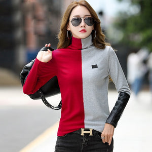 Women Patchwork T-Shirt - BuyBest