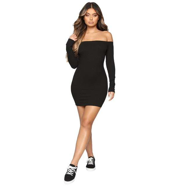 Front Drawstring Sexy Bandage Dress