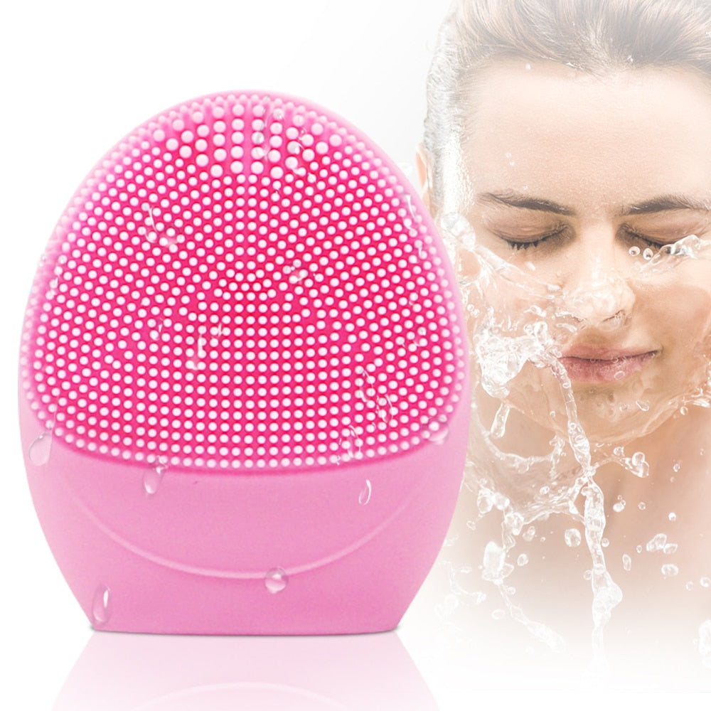 Electric Massage Face Cleanser Brush