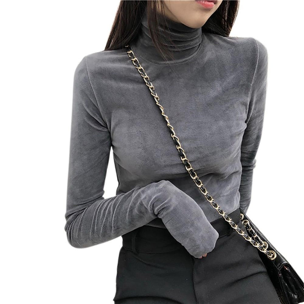 Turtleneck L/Sleeve T-Shirt