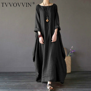 Boho Shirt Dress Maxi - BuyBest