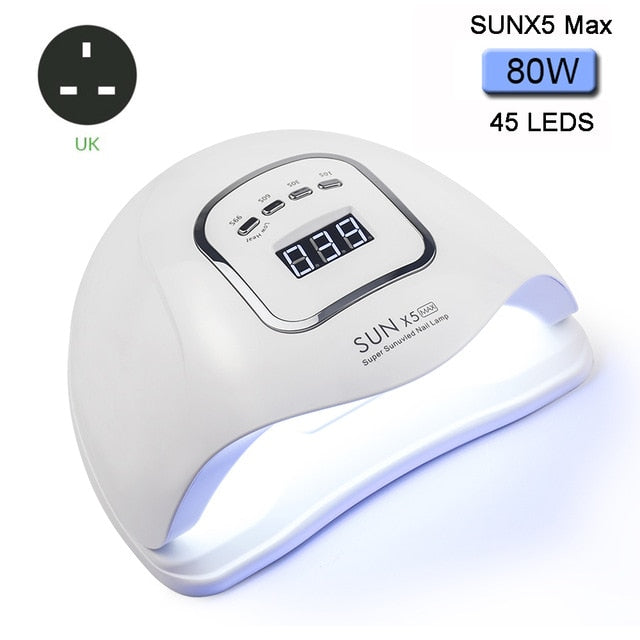 80/54W LED Nail Lamp for Manicure