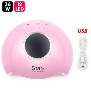 54W UV LED Manicure Gel Nail Dryer