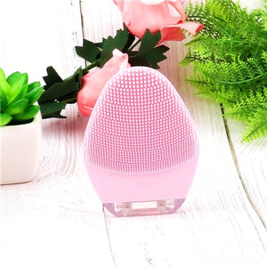 Portable Electric Face Skin Care Deep Washing Brush