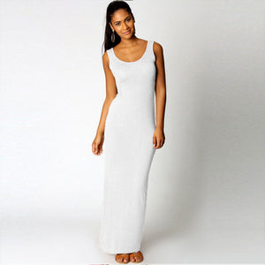 High Stretch Tank Robe Casual Sexy Dress