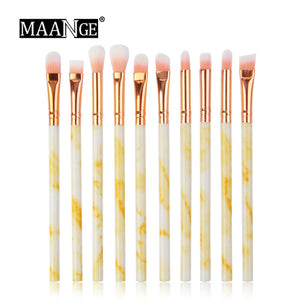 Marbling Makeup Brushes Set