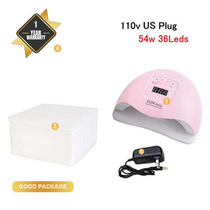 LED Lamp for Curing Nail Gel Polish