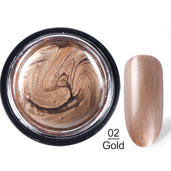 Metallic Color Nail Gel Polish