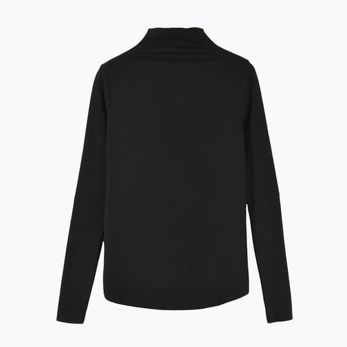 Solid Basic L/Sleeve T-Shirt