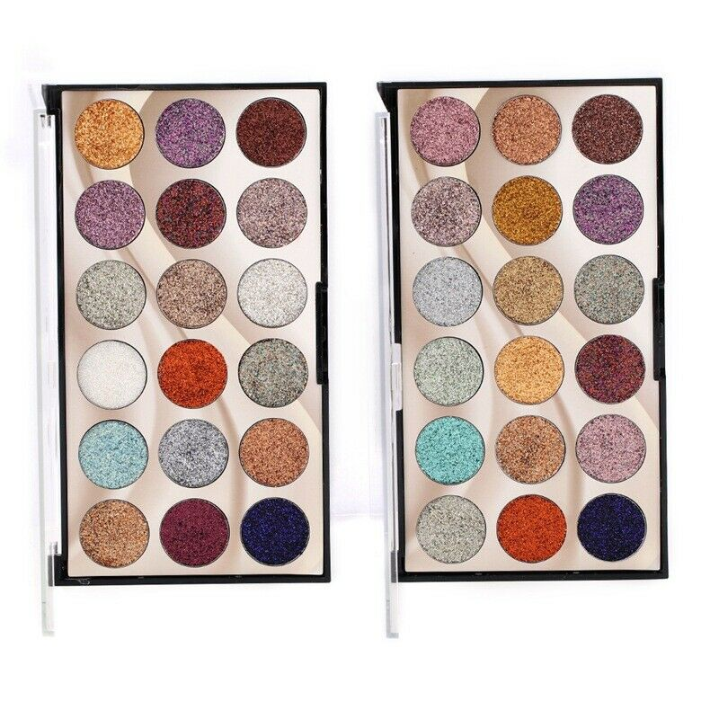 New Eyeshadow Long Lasting 18 Colors Beauty Shades Palette Eye Makeup Set Kit