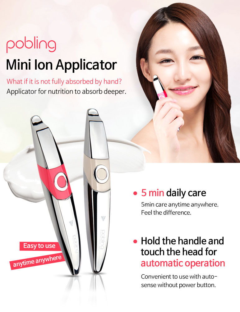 POBLING Mini Ion Applicator (Product of Korea)