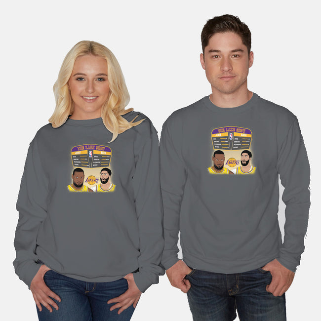 James and Davis-unisex crew neck sweatshirt-RivalTees