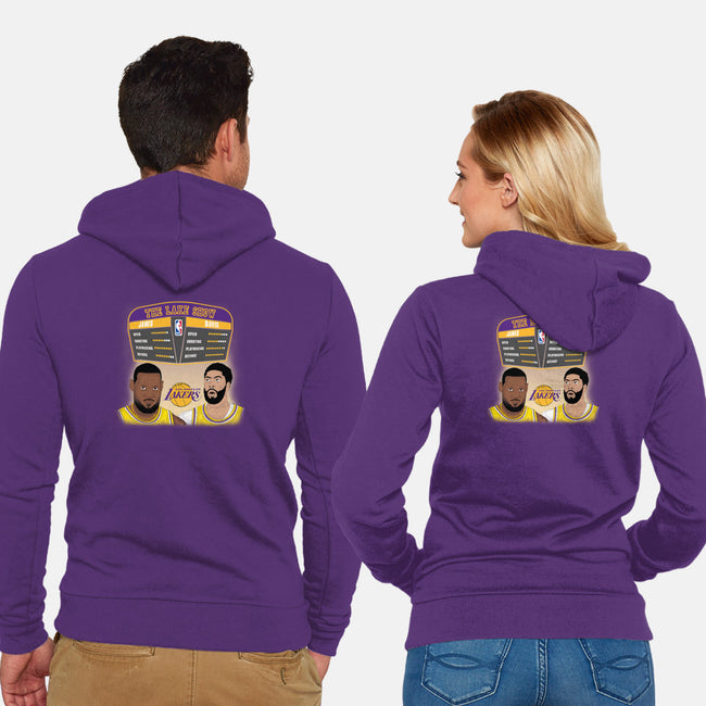 James and Davis-unisex zip-up sweatshirt-RivalTees