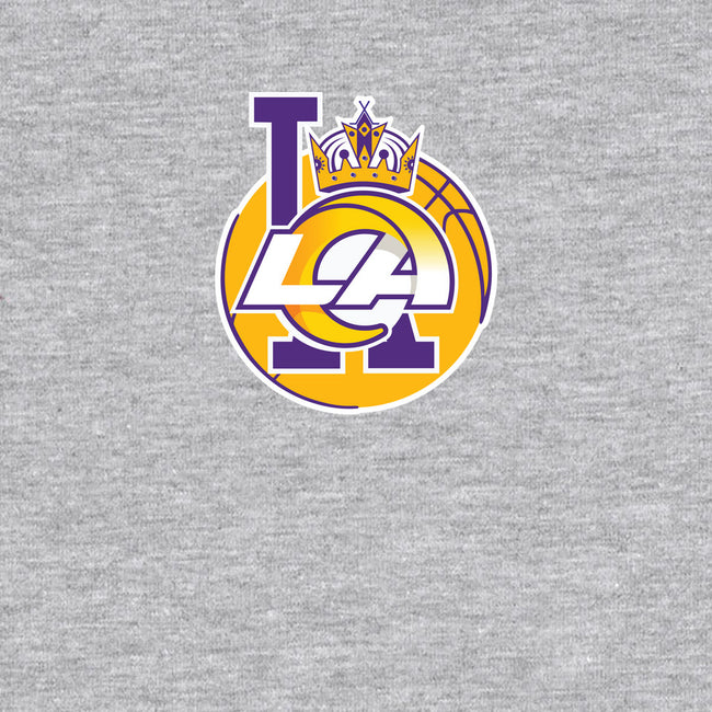 Los Angeles Logo Mashup-mens long sleeved tee-RivalTees