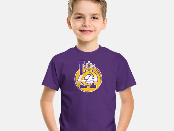 Los Angeles Logo Mashup
