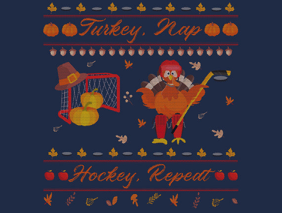 Turkey, Nap, Hockey, Repeat