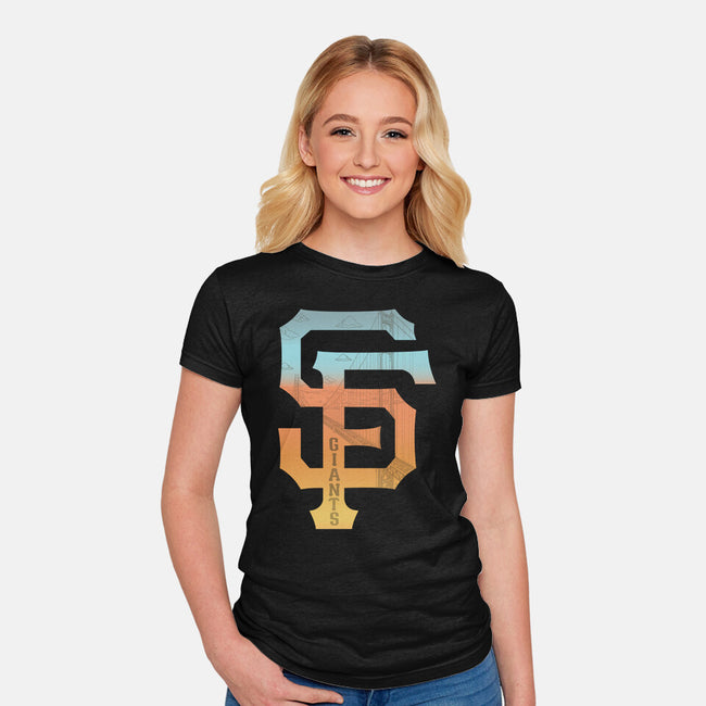 SF-womens fitted tee-RivalTees