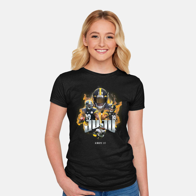 JUJU-womens fitted tee-RivalTees