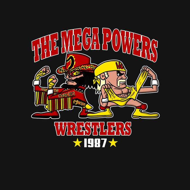 The Mega Powers-womens fitted tee-MarianoSan