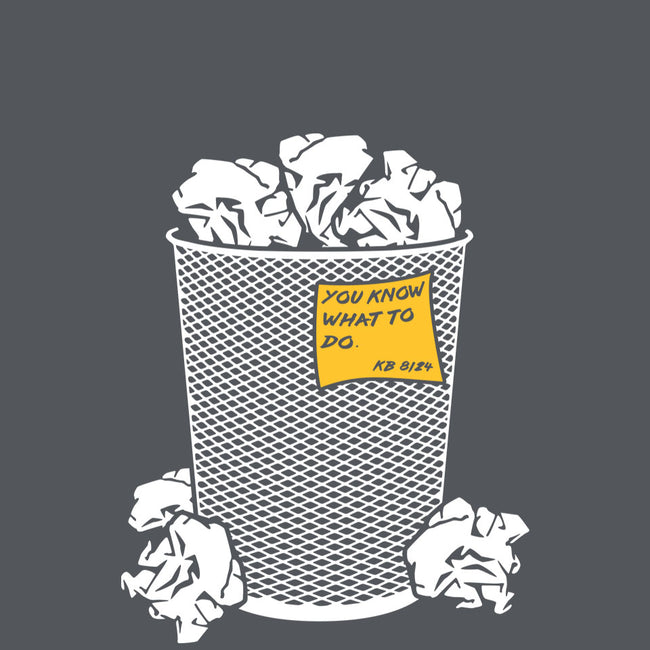 Trash Can Tradition-mens basic tee-christopher perkins
