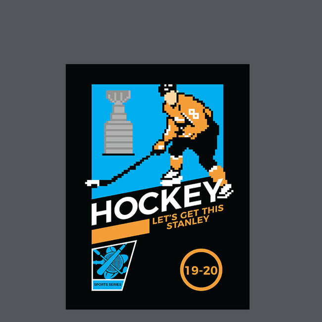 8Bit Hockey-womens basic tee-christopher perkins