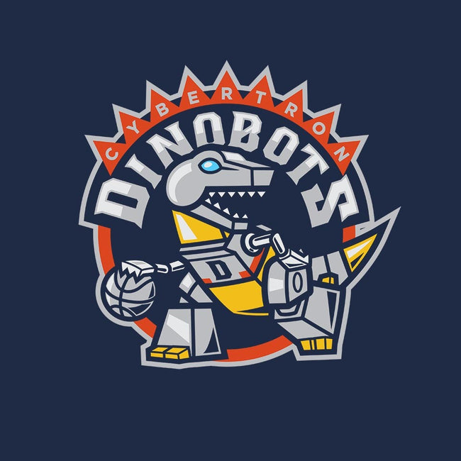 Dino Basketball-mens basic tee-Oktobear