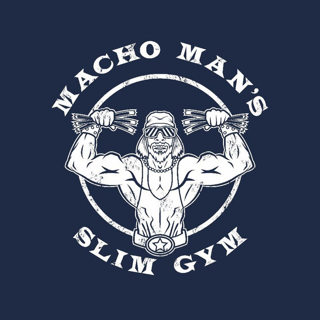 Macho Man's Slim Gym-womens basic tee-krusemark