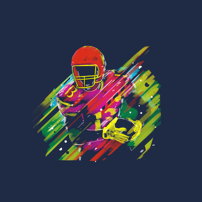 Race to the Touchdown-womens fitted tee-Frederic Levy-Hadida