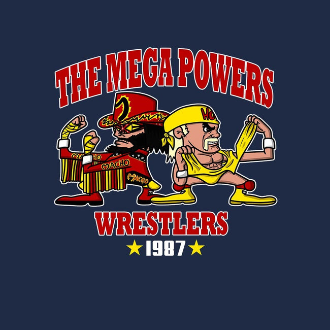 The Mega Powers-mens basic tee-MarianoSan