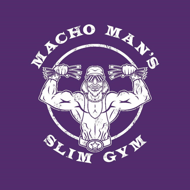 Macho Man's Slim Gym-mens basic tee-krusemark