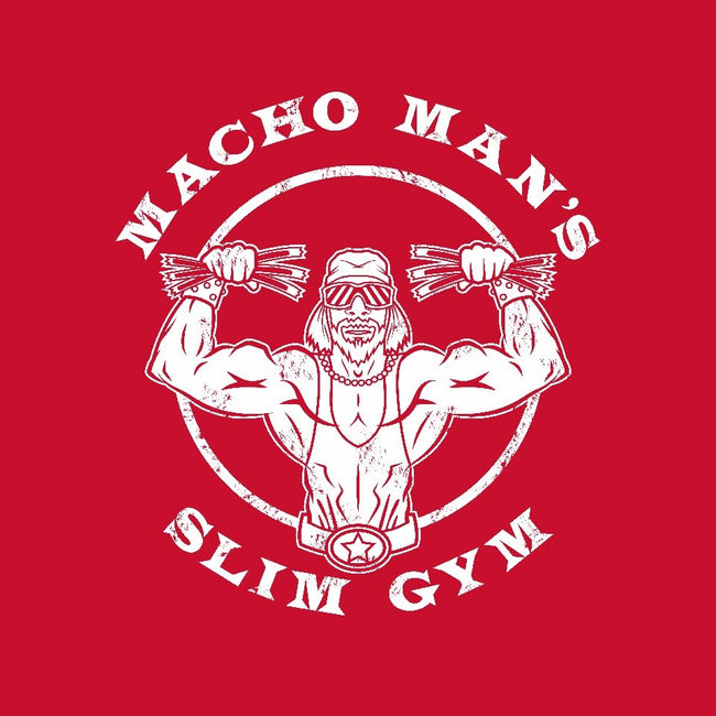 Macho Man's Slim Gym-youth basic tee-krusemark