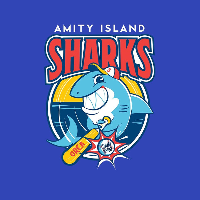 Amity Island Sharks-youth basic tee-Dave Perillo