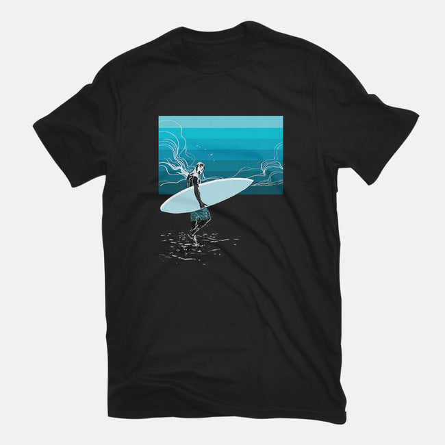Heading Out-youth basic tee-Frederic Levy-Hadida