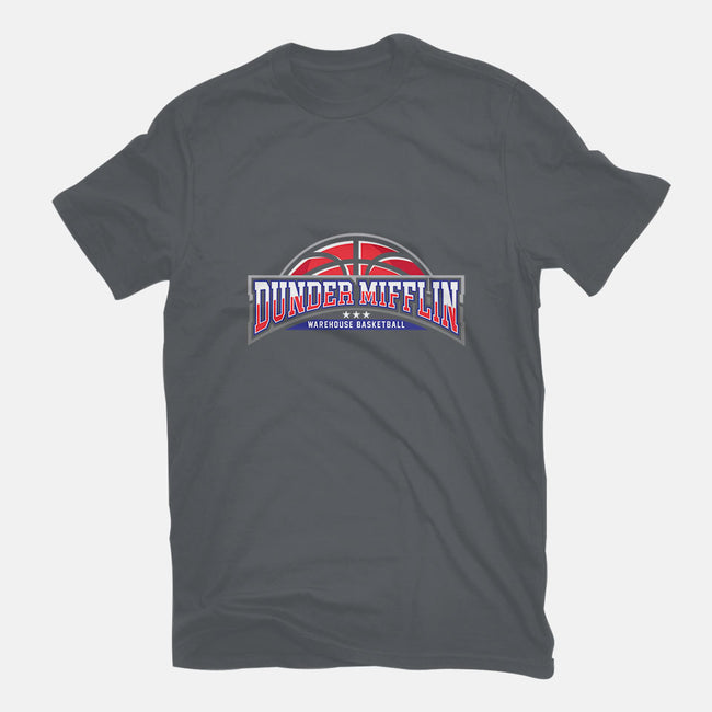 Warehouse Basketball-womens fitted tee-zerobriant
