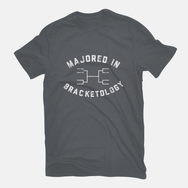 Bracketology-womens fitted tee-christopher perkins
