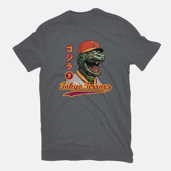 Kaiju Baseball-youth basic tee-ChetArt
