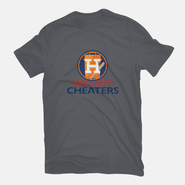 World Series Cheaters-womens fitted tee-TrentWorden