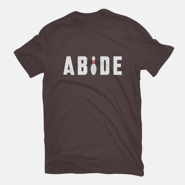 Abide-womens fitted tee-lunchboxbrain