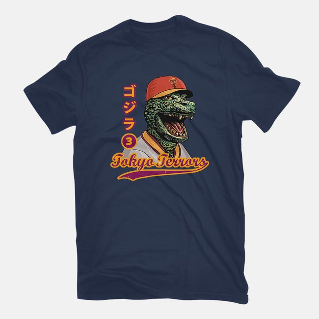 Kaiju Baseball-womens fitted tee-ChetArt