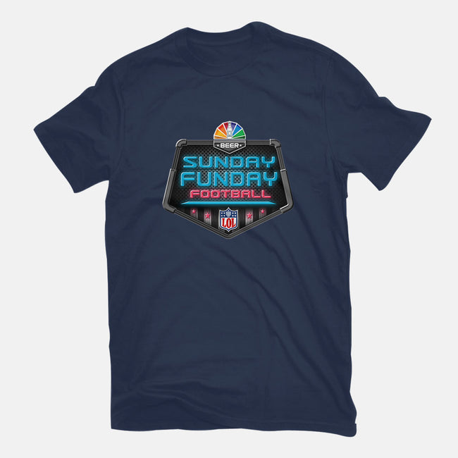 Sunday Funday-womens fitted tee-Cory Lorton