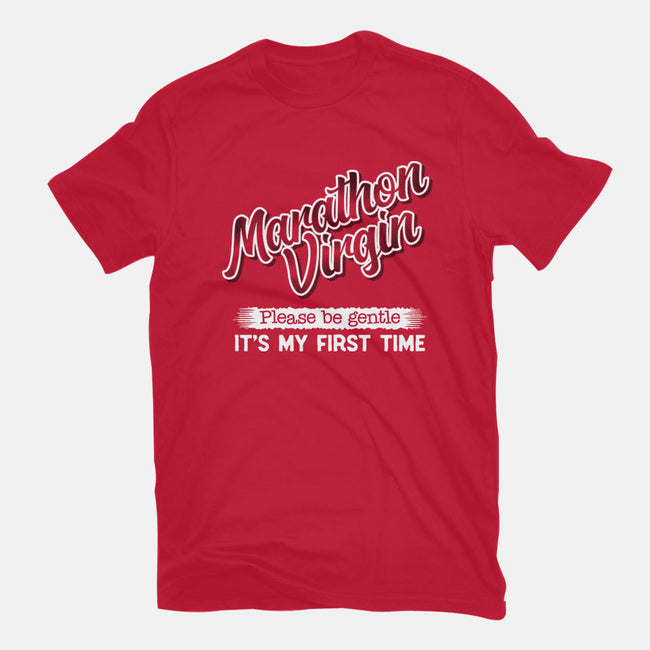 Marathon Virgin-womens fitted tee-DCLawrence