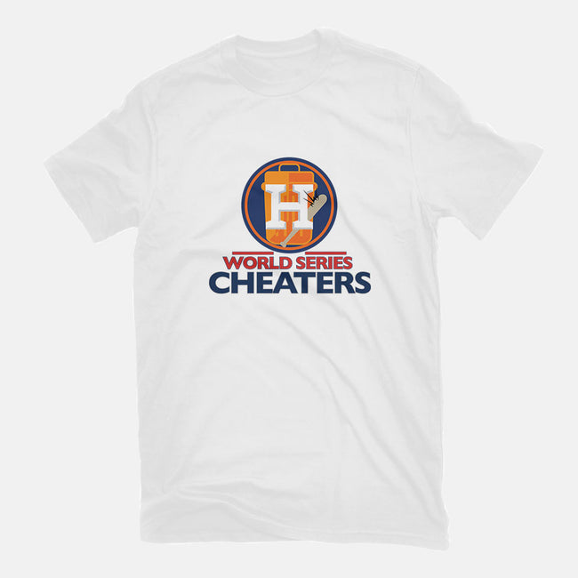 World Series Cheaters-mens long sleeved tee-TrentWorden