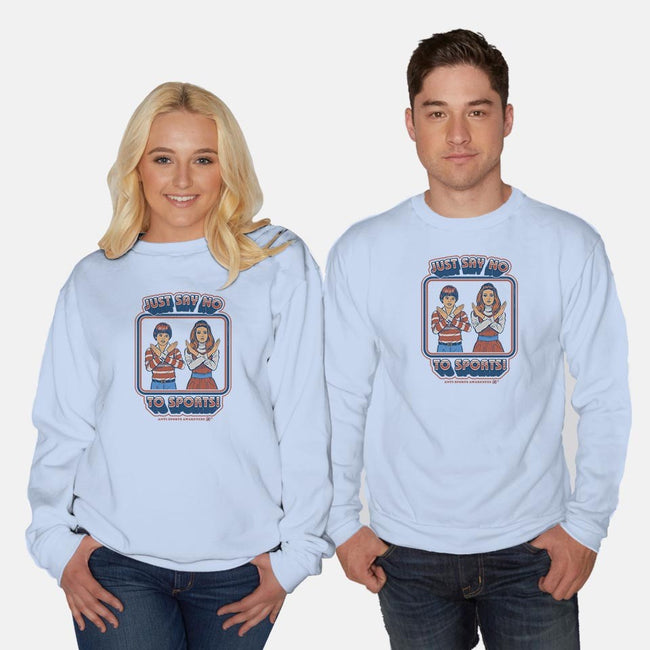Sports Awareness-unisex crew neck sweatshirt-Steven Rhodes