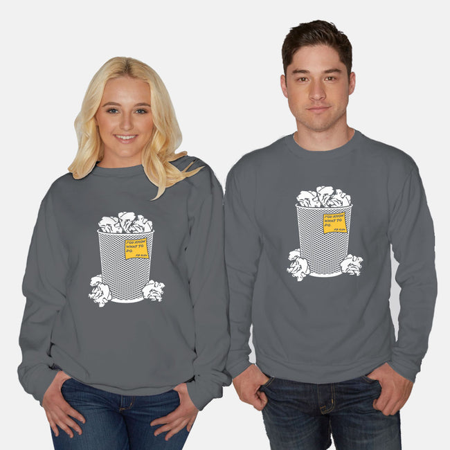 Trash Can Tradition-unisex crew neck sweatshirt-christopher perkins