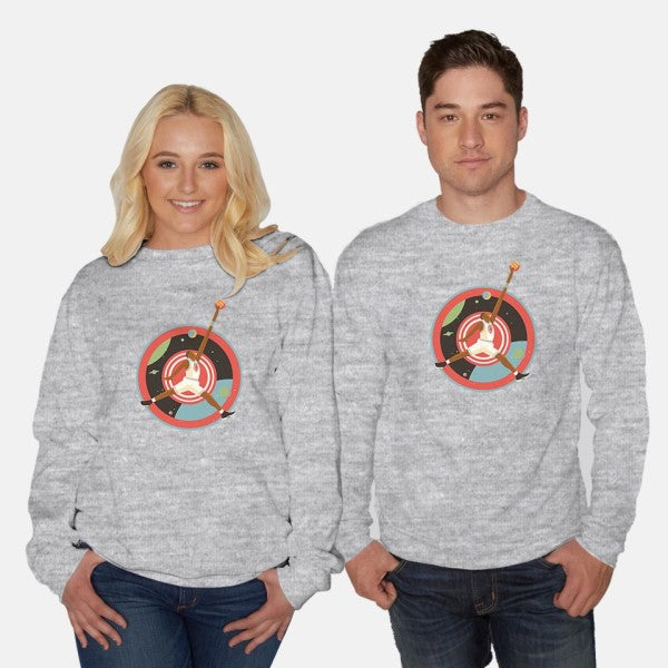 We Got a Real Jam Goin' Down-unisex crew neck sweatshirt-dannyhaas