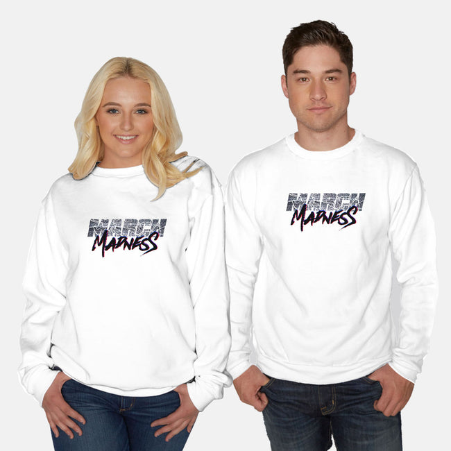 March Madness Live!-unisex crew neck sweatshirt-RivalTees