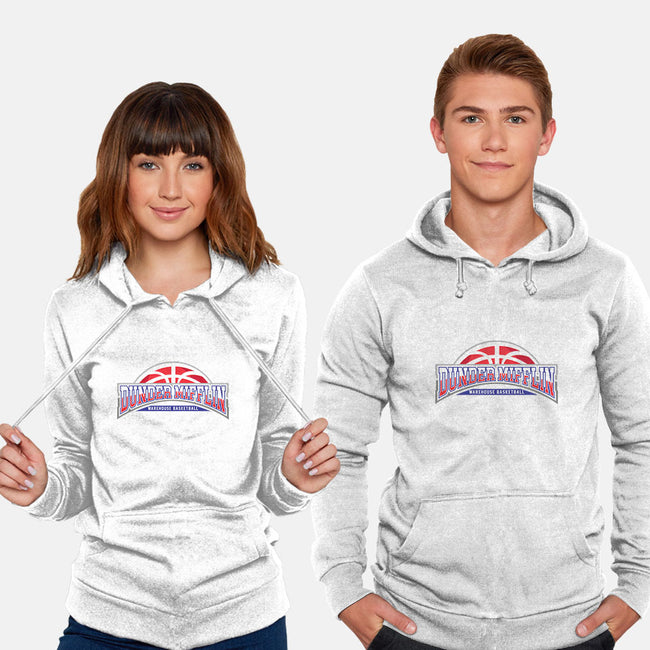 Warehouse Basketball-unisex pullover sweatshirt-zerobriant