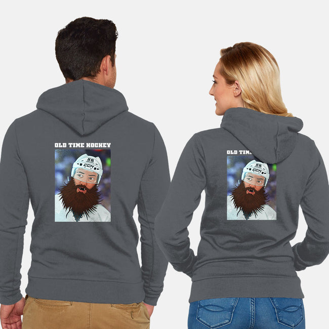 Old Time Hockey-unisex zip-up sweatshirt-DJR