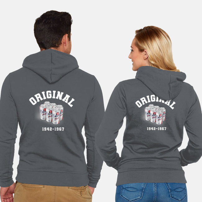 Original Six-unisex zip-up sweatshirt-RivalTees