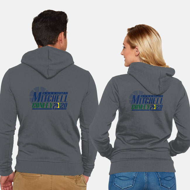 Mitchell Conley 2020-unisex zip-up sweatshirt-RivalTees